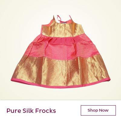 Pure silk frocks