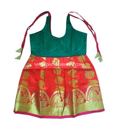 Kids Silk Frock for New Born