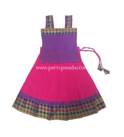 Pink and Purple Fancy Langa